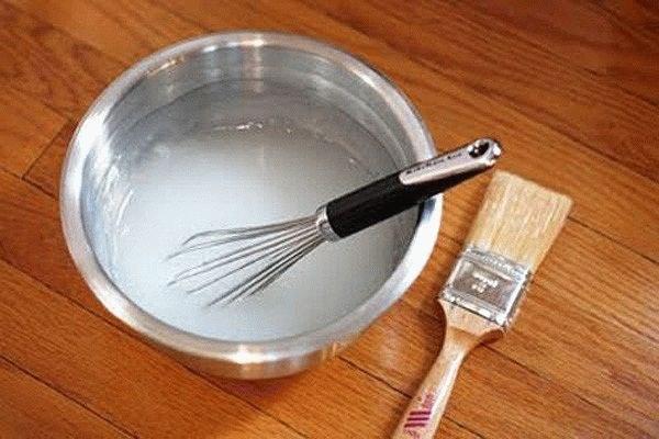 как сделать клей из муки и воды
