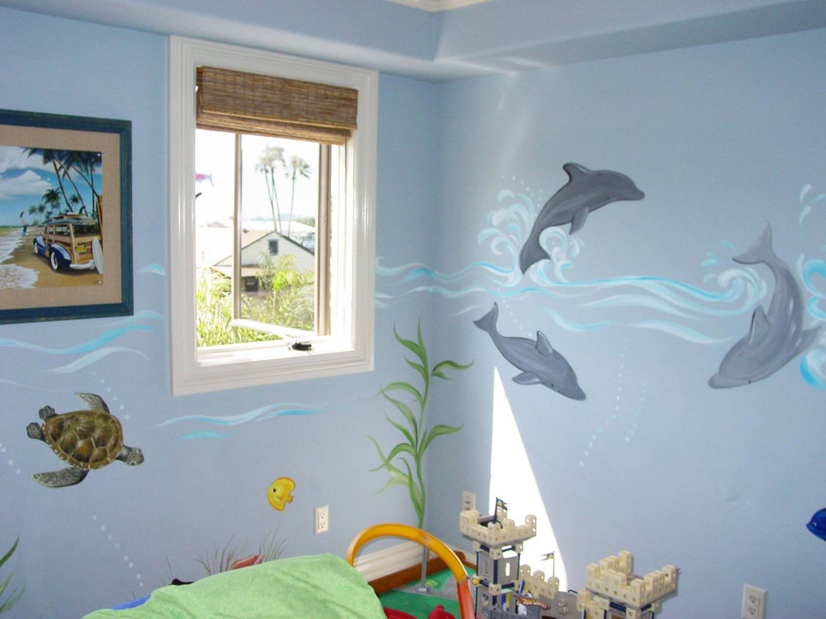 необычная детская комната для ребенка