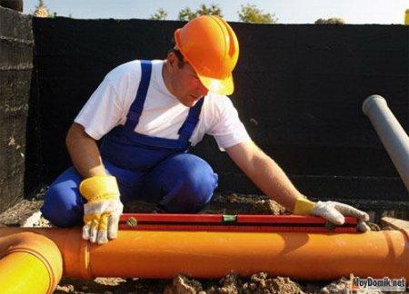 Какой должен быть уклон канализационной трубы – расчет канализации