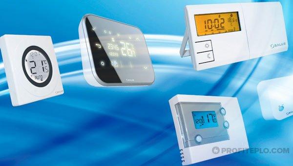 беспроводные терморегуляторы