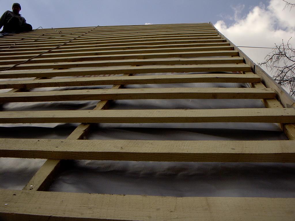 Обрешетка для мансардной крыши