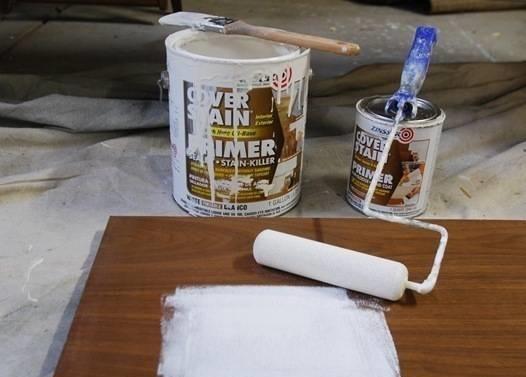 Покраска деревянной мебели