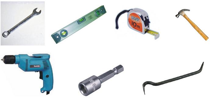 Инструменты для самостоятельного монтажа профнастила