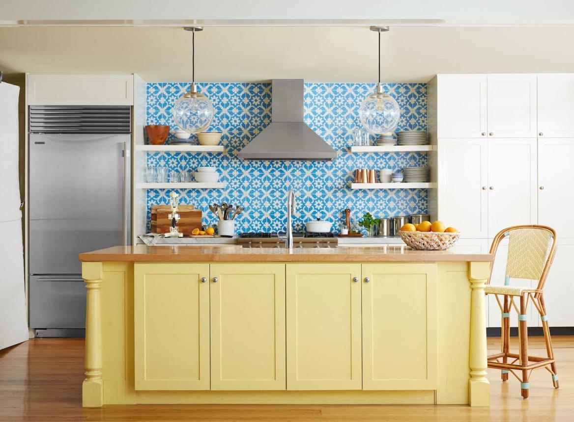 Какой должна быть высота фартука на кухне по стандарту?