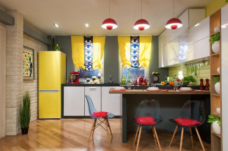 лайтовый китч на кухне