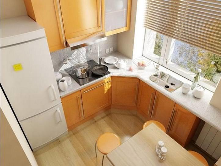 Ремонт кухни в хрущевке: как обыграть пространство своими руками