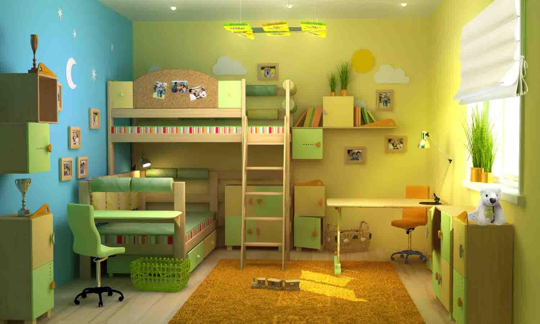 светлая детская спальня для ребенка картинка