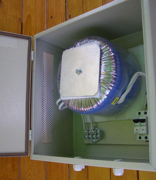 разделительный трансформатор для ванной комнаты