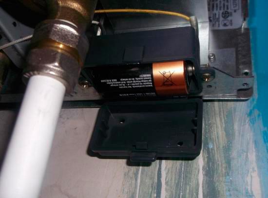 Замена батареек