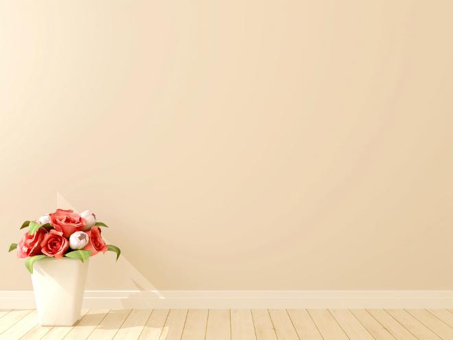 кремовый цвет стен