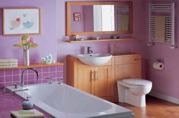 краска для отделки стен ванной комнаты