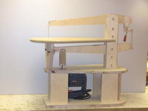 Швейная машинка в качестве лобзика