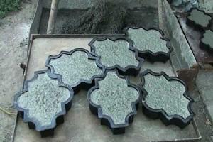 Как самостоятельно сделать формы для изготовления тротуарной плитки