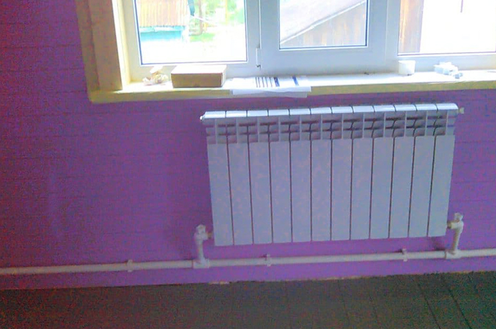 Однотрубное отопление дома