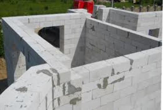 Строительный материал газобетон