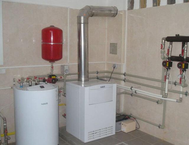 расход газа в газовых котлах отопления