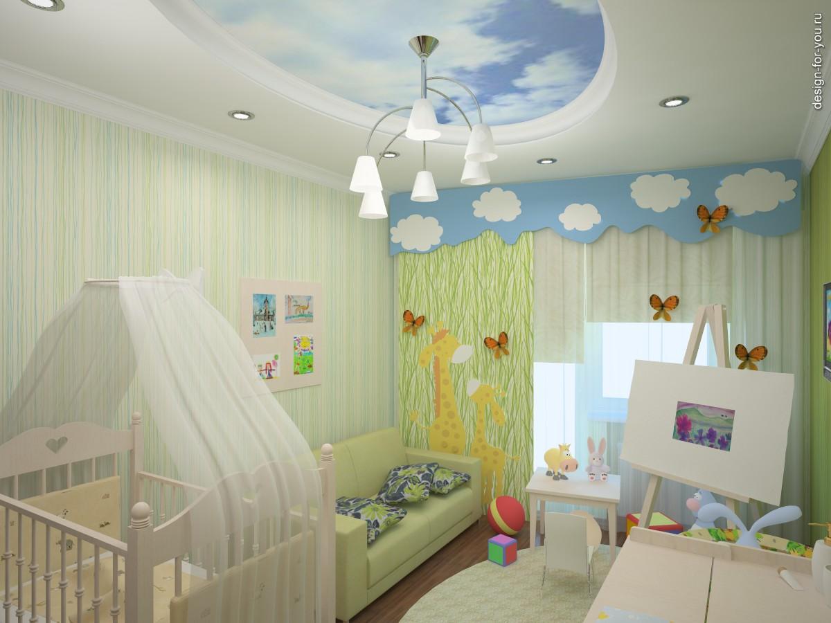 красивая детская комната для ребенка дизайн