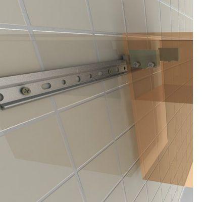 Как повесить шкафы на кухне на планку