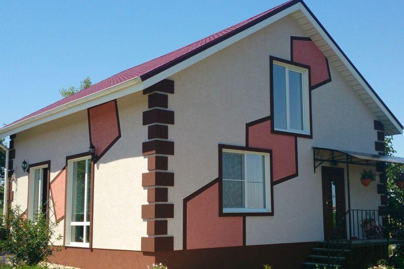Отделка фасада: обзор основных видов оформления фасада (90 фото идей)