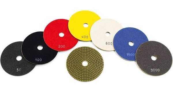 Шлифовальные диски бывают с разным зерном