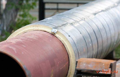 Используемые материалы при выполнении теплоизоляции водоснабжения