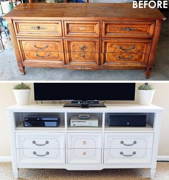 Как покрасить мебель в белый цвет