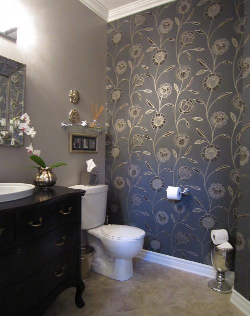 обои для отделки стен ванной комнаты