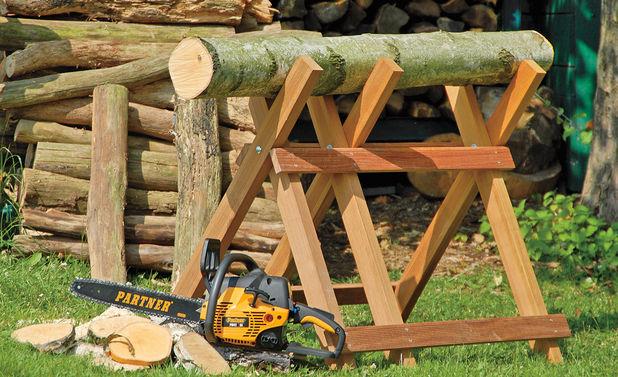 Козел для распилки дров своими руками