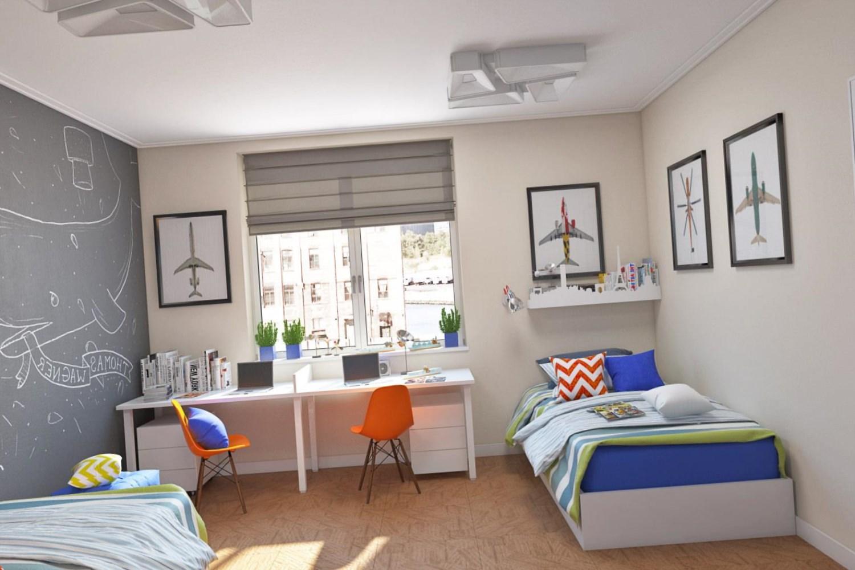 необычная детская комната для ребенка картинка