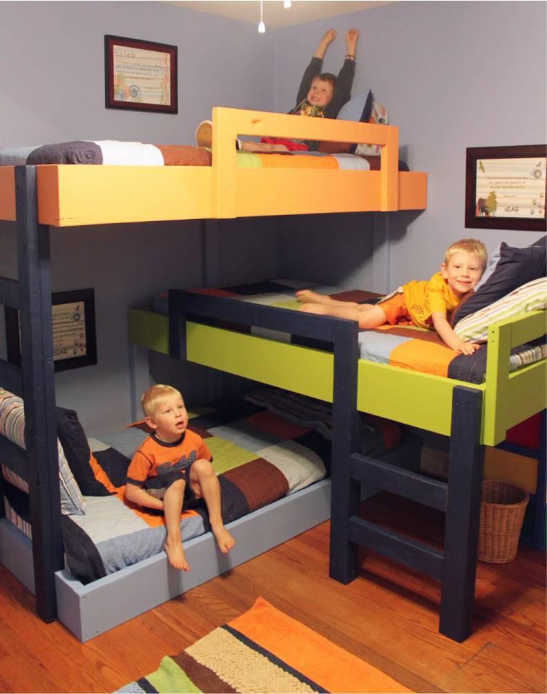 красивая детская спальня для мальчика дизайн