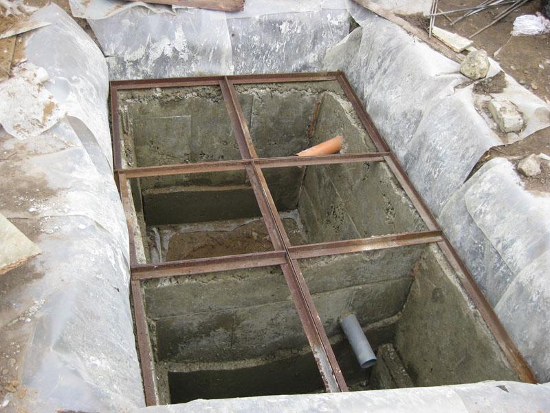 Каркас для будущей «крыши»