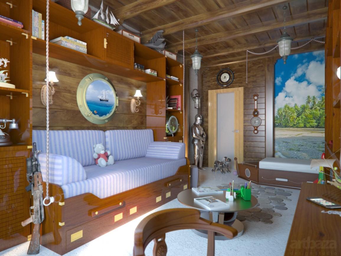 красивая детская комната для мальчика картинка