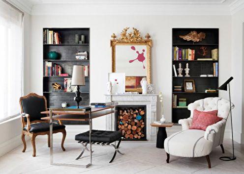 Камин в гостиной (70 фото): как выбрать, идеи и советы