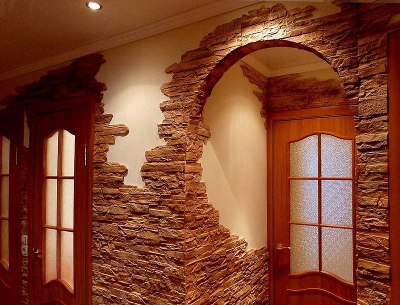 Как выглядит декоративный камень