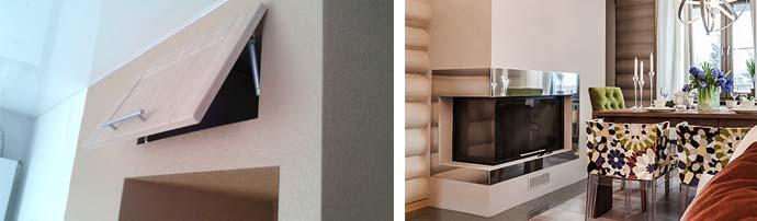 Варианты дизайна ниш с использованием гипсокартона