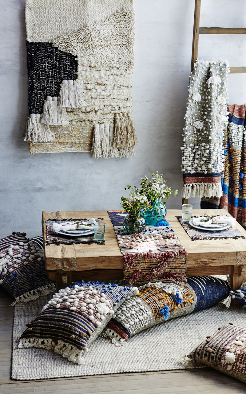 Уютный уголок в скандинавском стиле