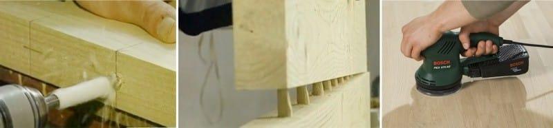 Изготовление столешницы своими руками - соединяем доски