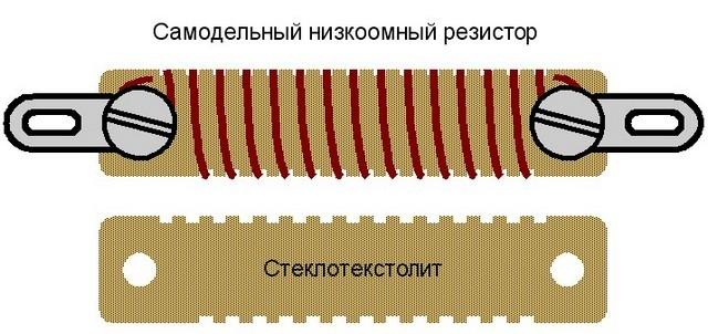 Самодельный резистор – его сопротивление несложно проконтролировать мультитестером в режиме омметра