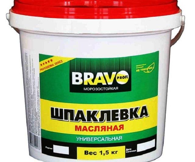Еще одна шпаклёвка универсального применения – на масляной основе