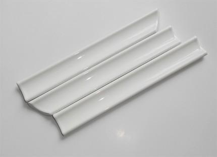 Керамический  бордюр для ванной: расчет, установка, герметизация стыка