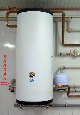 установка водонагревательного агрегата своими руками