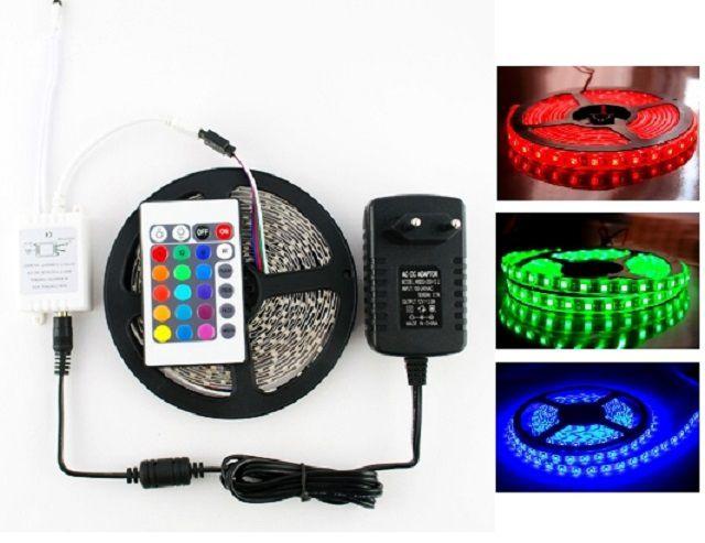 Пример комплекта светодиодного ленточного освещения