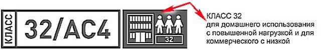"""32 класс ламината не зря заслуживает названия """"самый универсальный"""""""
