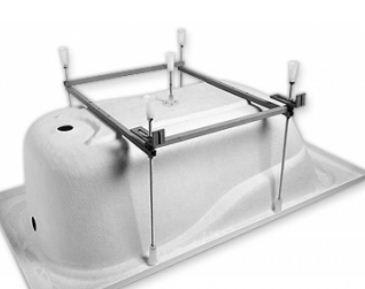 Монтаж каркаса для ванны