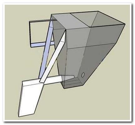 Можно использовать этот чертеж пневмоковша для штукатурки