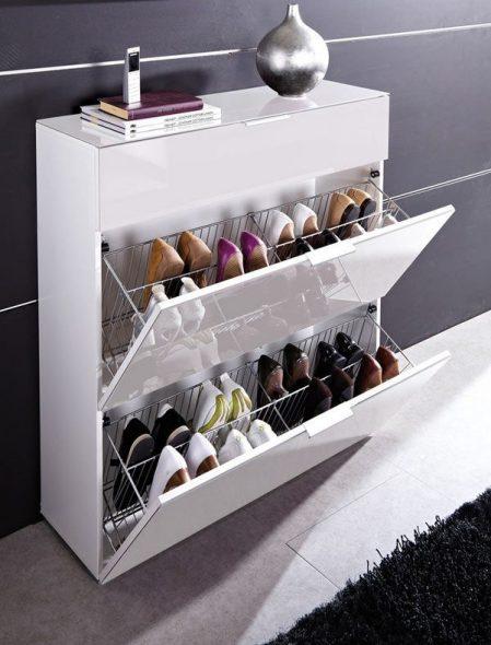 обувной шкаф слим