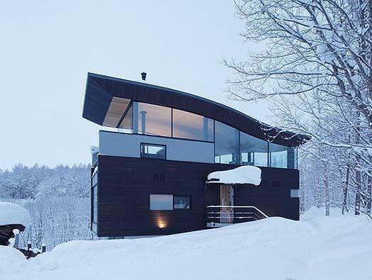 Односкатная крыша с мансардой