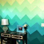 оригинальная раскраска стен