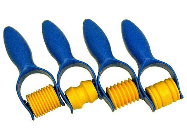 Валики для придания штукатурке геометрически правильного линейного рельефа