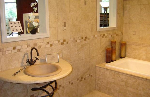 Плитка - отличный материал для отделки ванной